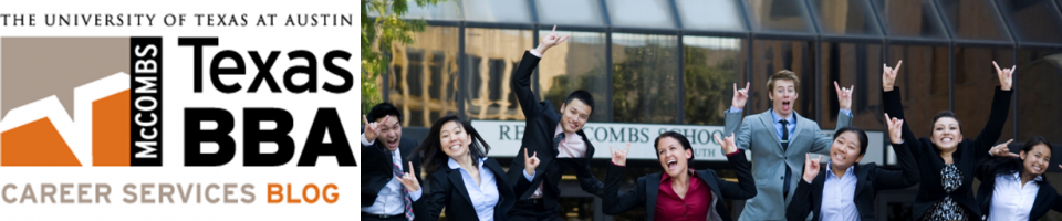 Texas BBA Career Services Blog