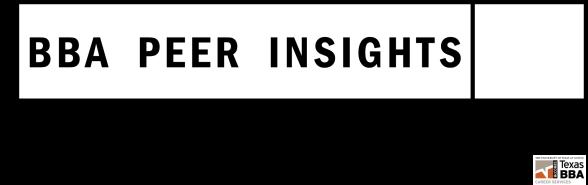 BBA Peer Insights Blog
