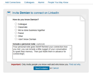 linkedinscreen shot